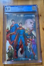 Superman #29 CGC 9.8 NM/MT, Wraparound variant cover, Infinite Frontier!