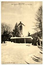 CPA Les Sports d' Hiver Un saut en Skis