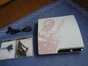 Sony PlayStation3 PS3 Console FINAL FANTASY XIII Lightning Edition 2 softs set