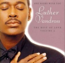 One Night with You: The Best of Love, Vol. 2 by Luther Vandross (CD, Sep-1997, B