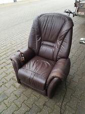 Elektrischer Fernsehsessel Hukla Leder Sessel