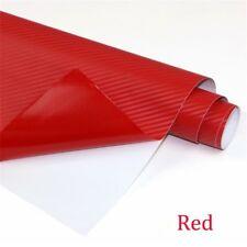 5D Glossy Carbon Fiber Vinyl Car Wrap Sheet Roll Film Sticker Decals 127x30cm