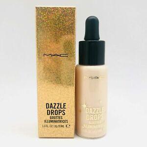 NEW MAC Dazzle Drops Gouttes Illuminatries Dazzlepeach - Size 30ml / 1.0 Oz.