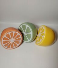Target ceramic lemon, lime, and grapefruit