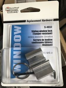 S4032 Sash Window Lock, W/ Wrench Qty 8, 2-PACKS!!Great Deal!! Defender Security
