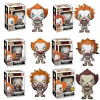 FUNKO POP IT Movie PENNYWISE with Boat Vinyl Figure Retail Box Halloween Gift