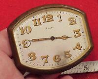 Vintage  Schild & Co Swiss 8 Day Clock DASHBOARD TRAVEL 2 5/8 X 3 1/8in TICKS