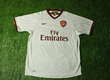 ARSENAL LONDON ENGLAND 2007/2008 FOOTBALL SHIRT JERSEY AWAY NIKE ORIGINAL SIZE L