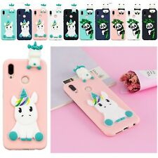 3D Unicorn Silicone Soft Skin Rubber Case Cover For Huawei Honor P20 Lite Xiaomi