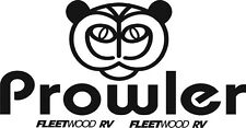 Prowler  RV LOGO Graphic with picture and fleetwood decals SET OF TWO