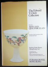 Catalog Sotheby HK Edward T. Chow Collection Part I Ming and Qing Porcelain 1980