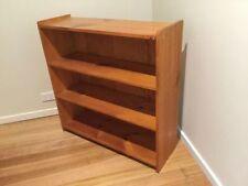 Pine Bookshelves DVD 3 Shelves