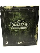 World of Warcraft Burning Crusade Collector's Edition - Used. Read!