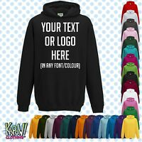 Custom Personalised Baby/Kids/Childrens HOODIE Name Funny Gift- Your text/logo 5