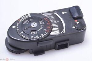 ✅ LEICA M MR-4 BLACK LIGHT METER *MINTY* FOR M3, M2, M4, M4-2, M4-P CAMERAS