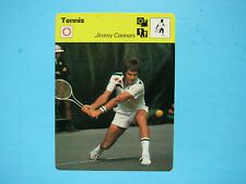 1977 1977/79 SPORTSCASTER TENNIS PHOTO JIMMY CONNORS NICE!! PRINTED IN ITALY