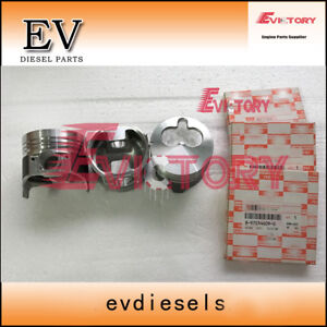 For Isuzu 3LB1 piston + piston ring set