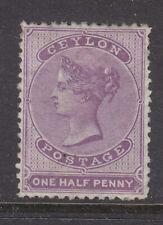 Ceylon 1863 Sg 48 MH