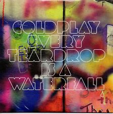 "COLDPLAY ""EVERY TEARDROP IS A WATERFALL"" CD SINGLE NEW & SEALED / CHRIS MARTIN"