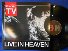 PSYCHIC TV live heaven LIMITED 3000 ORIGINAL UK EXC
