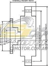 DAYCO Fanclutch FOR Holden Jackaroo Oct 1999 - Sep 2004 Turbo Diesel U8 4JX1