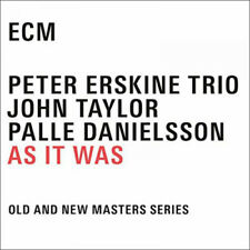 Peter Erskine Trio : As It Was CD (2016) ***NEW***