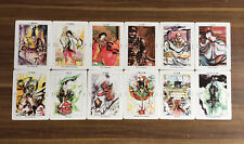Tarot Decks By Japanese-style Painter Misuzu Itateyama 22 Major Arcana + 2 extra