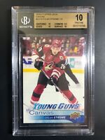 2016-17 Dylan Strome Young Guns Canvas Rookie BGS 10 Pristine