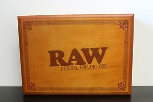 Large Raw Rolling Stash Box w Tray~Stores Everything You have~A MUST HAVE
