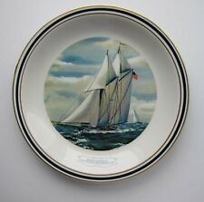 Ny Yacht Club Official America's Cup Collectors Plate Wedgwood by Danbury Mint