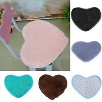 Soft Absorbent Memory Foam Bath Bathroom Floor Shower Heart Mat Rug Non-slip