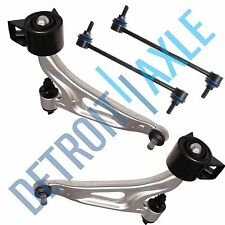 New 4pc Kit: Both Front Lower Control Arms + Sway Bar Links for Ford Freestar