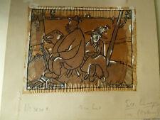 Henry Bing, grafica originale, caricatura, Vorzeichnung Simplicissimus,