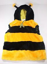 Halloween Plush Warm Bumble Bee Costume Unisex Child Size Stinger on back
