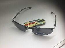 FOSTER GRANT MENS SPORT WRAP SUNGLASSES GREY UV PROTECTION 34063 BNWT 19.99