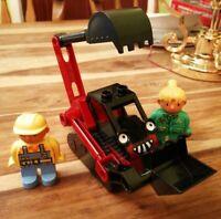 LEGO DUPLO BOB THE BUILDER SET BENNY EXCAVATOR BOB & WENDY NICE CONDITION