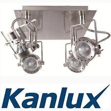 Kanlux LED Wall 4 Mains Head Rotatable Ceiling Designer Mounted GU10 Light Spot
