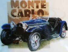 "New Vervaco CAR  "" MONTE CARLO"" Counted Cross Stitch Kit- Comb. Ship, Offer"