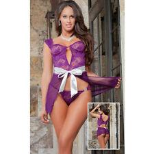sexy lingerie kinky underwear size 6 8 10 honeymoon Teddy Babydoll 10048