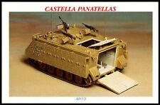 M113 #26 The Tank Story 1997 Castella Cigarette Card (C270)