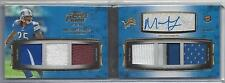 MIKEL LESHOURE 2011 TOPPS PRIME LEVEL I (1) 6 PIECE PATCH AUTO BOOK RC #D 8/10