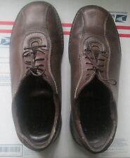 DUCKS UNLIMITED H.S.TRASK CO BROWN LEATHER MEN'S SHOES SZ 11.5