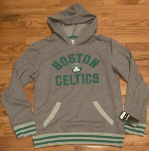 Men's Boston Celtics Fanatics Varsity Pullover Hoodie NWT Medium M