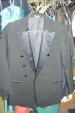 Zombie Clothing -Tuxedo Jacket Black Peak Lapel 10000Zombie
