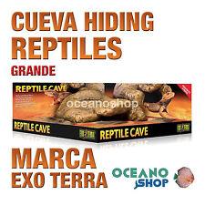 CUEVA HIDING PARA REPTILES ESCONDERSE Y DORMIR REALISTA Grande Exo Terra