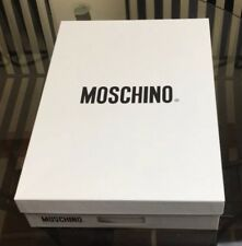 """Mens Moschino Shirt New With Tags White Long Sleeves Collar 16""""MRP £209  Reduced"""