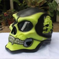 Motorcycle Helmet Skull Skeleton Full Face For Youth