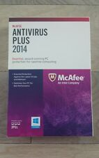 McAfee Antivirus Plus 2014 Protects 3 PCs *Free update to current* NOT EMAILED