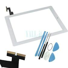 Touch Screen Glass Digitizer + Home Button for iPad 2 A1395 A1397 A1396 White A+