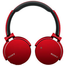 Sony MDR-XB650BT Extra Bass On-Ear Headphones With Bluetooth Red (453286)
